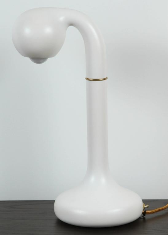 Matte White Table Lamp by Entler 3