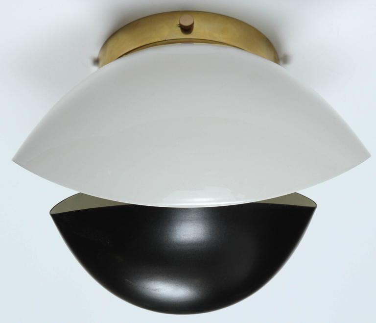 Double Shell Sconce by Jason Koharik for Collected by In Excellent Condition In Los Angeles, CA