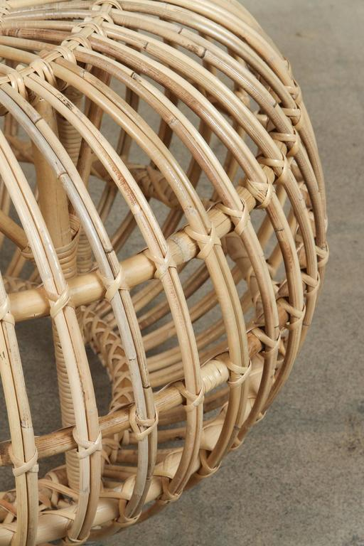 Rattan Ottomans by Franco Albini 5