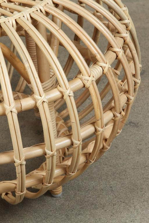 Rattan Ottomans by Franco Albini 9