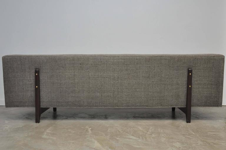 Dunbar Bracket Back Sofa by Edward Wormley 8