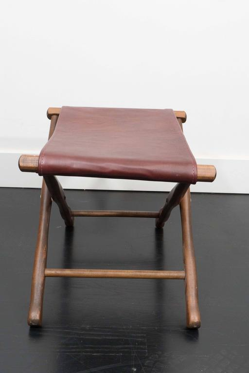 20th Century Pair of Folding Stools For Sale
