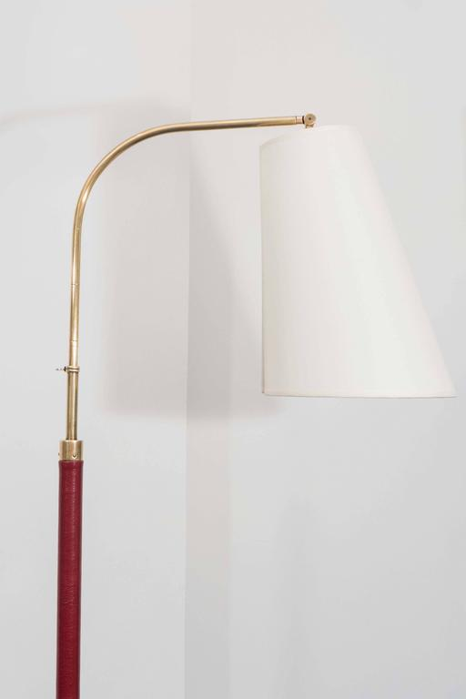 French Jacques Adnet Reading Lamp For Sale