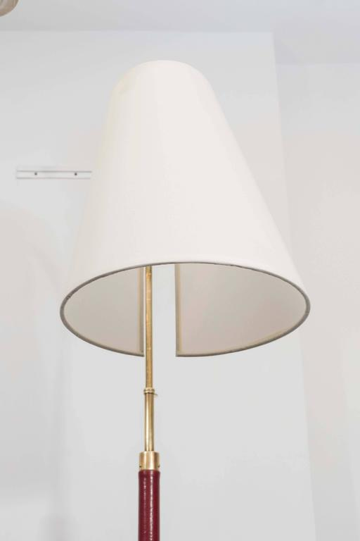 20th Century Jacques Adnet Reading Lamp For Sale
