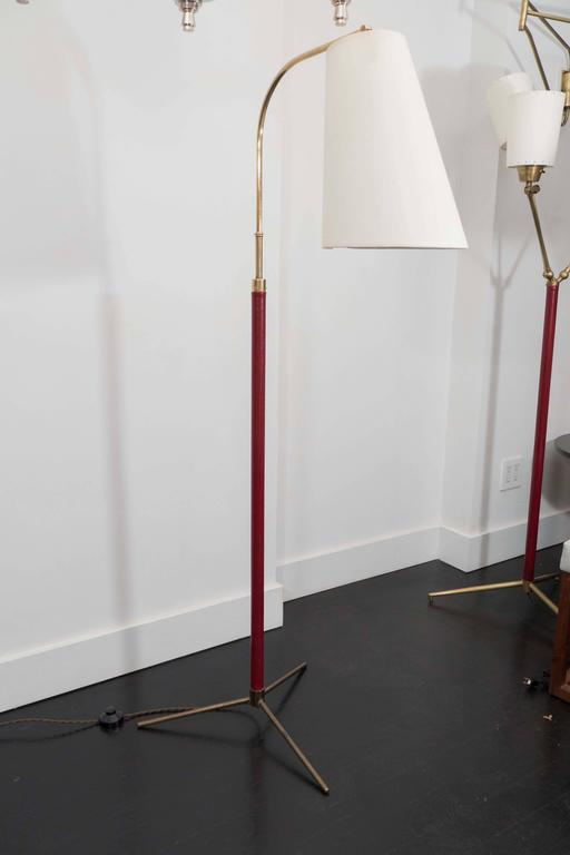 Jacques Adnet Reading Lamp For Sale 1
