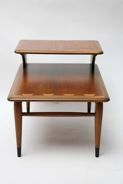 Two Tiered Lane Acclaim Series End Tables 1960s Usa At 1stdibs