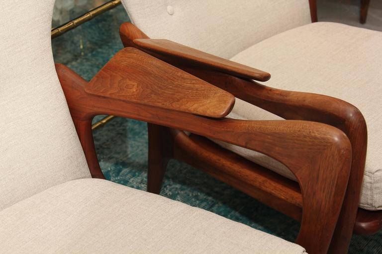 Pair of Adrian Pearsall Chairs 6