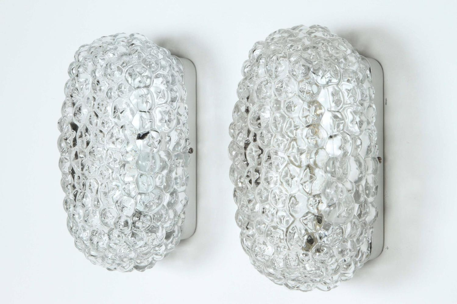 Pair Of 1960s German Bubble Sconces At 1stdibs