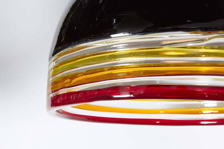 Italian 1970s Pendant Light by Leucos In Good Condition For Sale In New York, NY