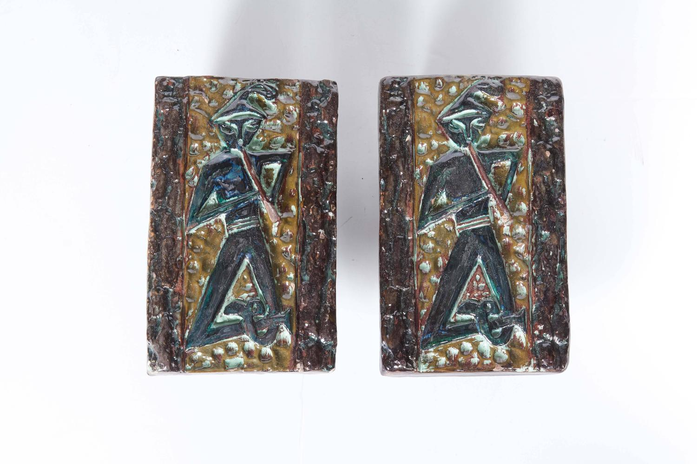 1950s italian mid century modern ceramic door handles at for 1950 door knobs