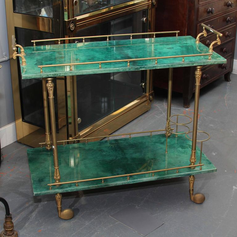 Aldo Tura Bar Cart 2