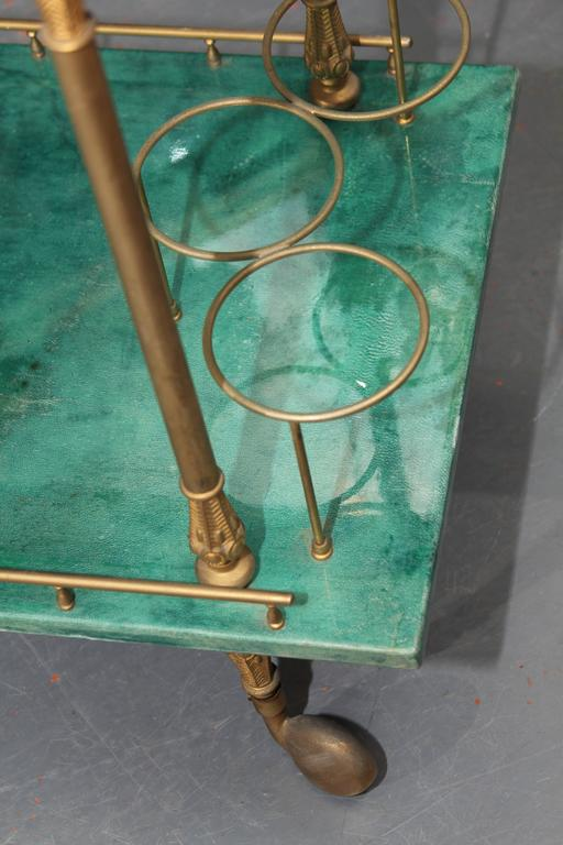 Aldo Tura Bar Cart 5