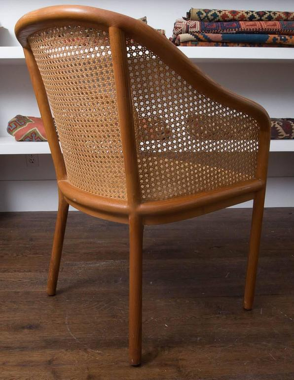 Pair of Ward Bennett Chair In Excellent Condition For Sale In East Hampton, NY