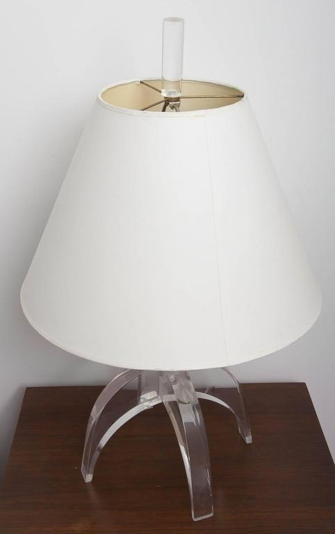 Pair of Lucite Lamps 2