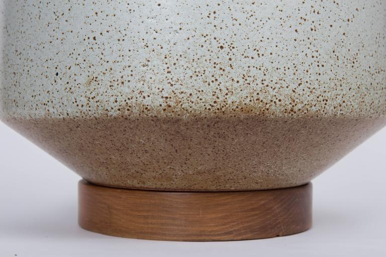 Mid-Century Ceramic Table Lamp by David Cressey, circa 1970s In Excellent Condition For Sale In East Hampton, NY
