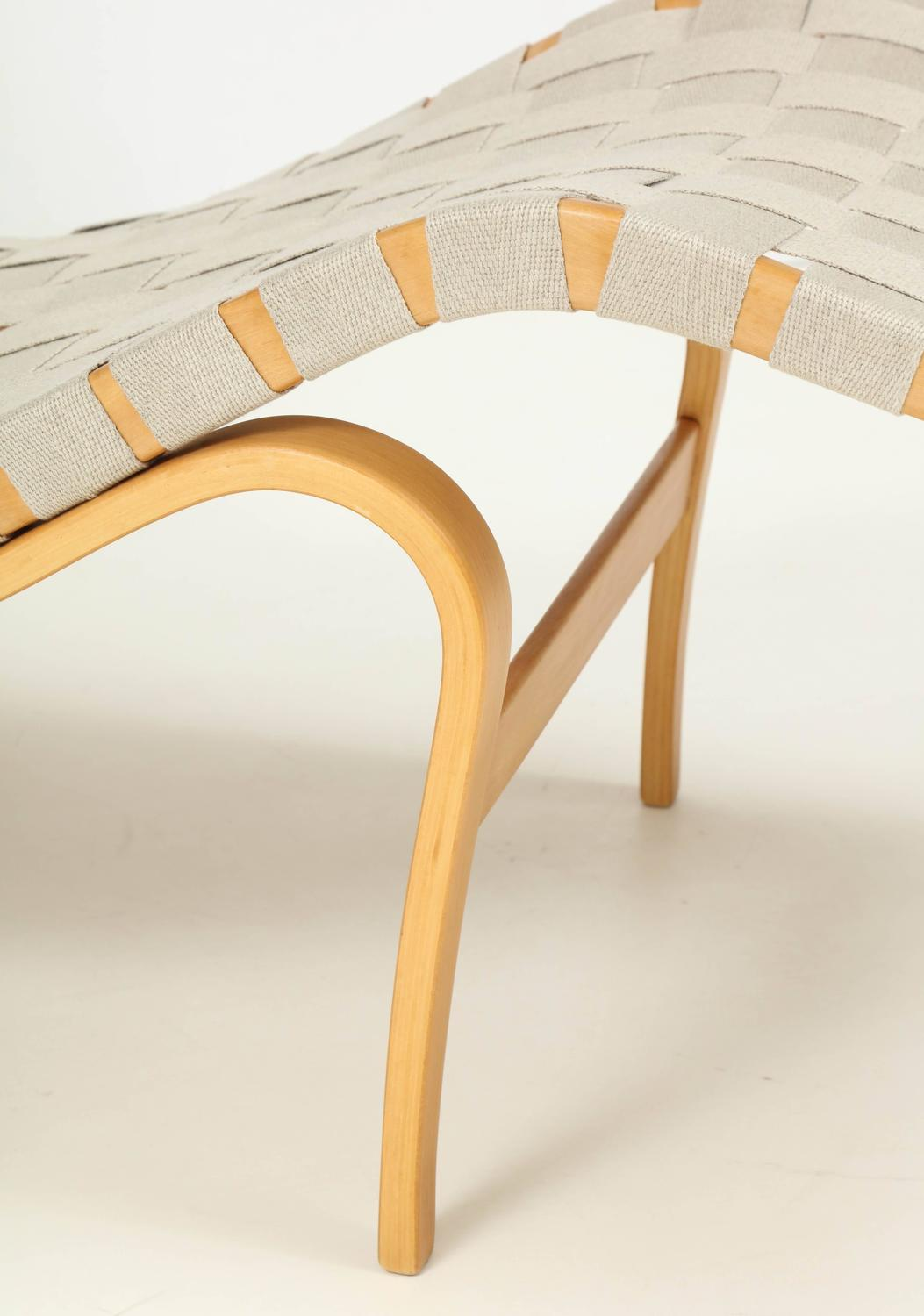 Bruno mathsson chaise longue at 1stdibs for 1 zitsbank met chaise longue