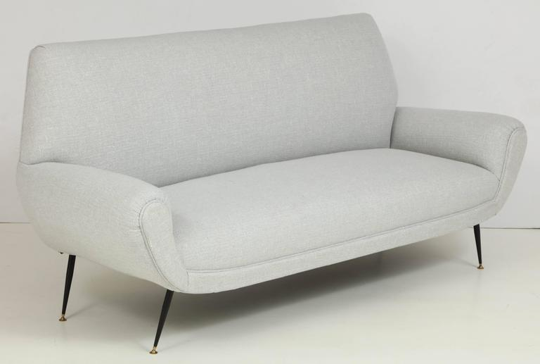 Mid-Century Modern Mid Century Italian Sofa, circa 1950s For Sale