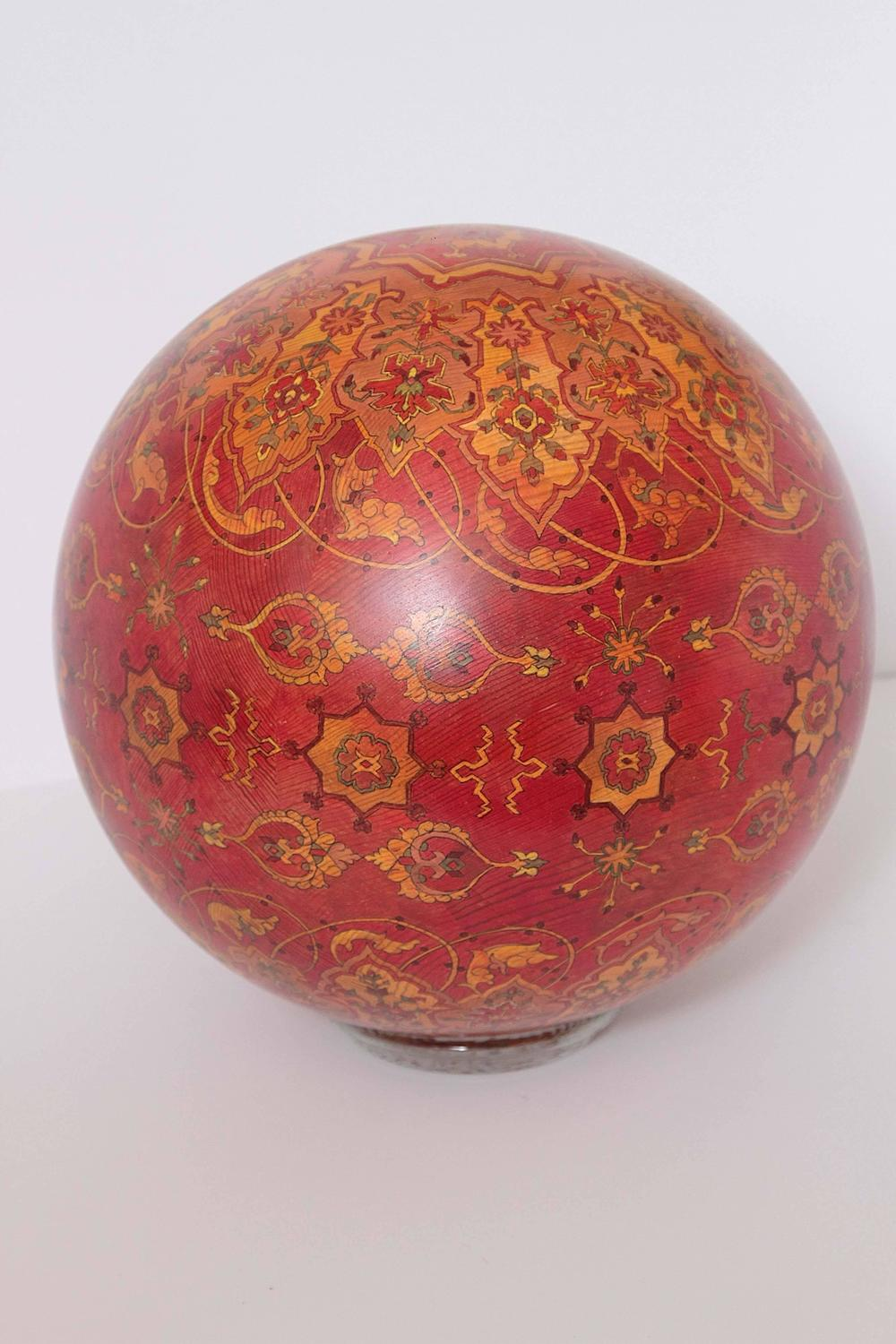 Sculptural Spheres Crazy Wonderful: Sugar Pine Sphere Sculpture For Sale At 1stdibs