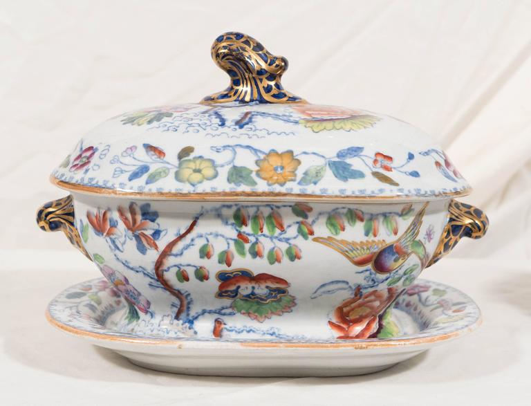 Chinoiserie Two Mason's Ironstone