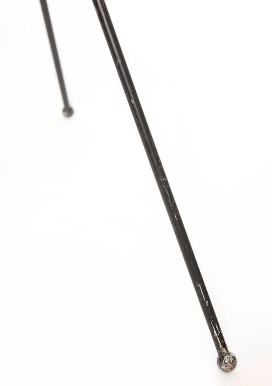 Painted H fillekes for Artiforte Magneto articulated Floor Lamp Denmark 1950's For Sale