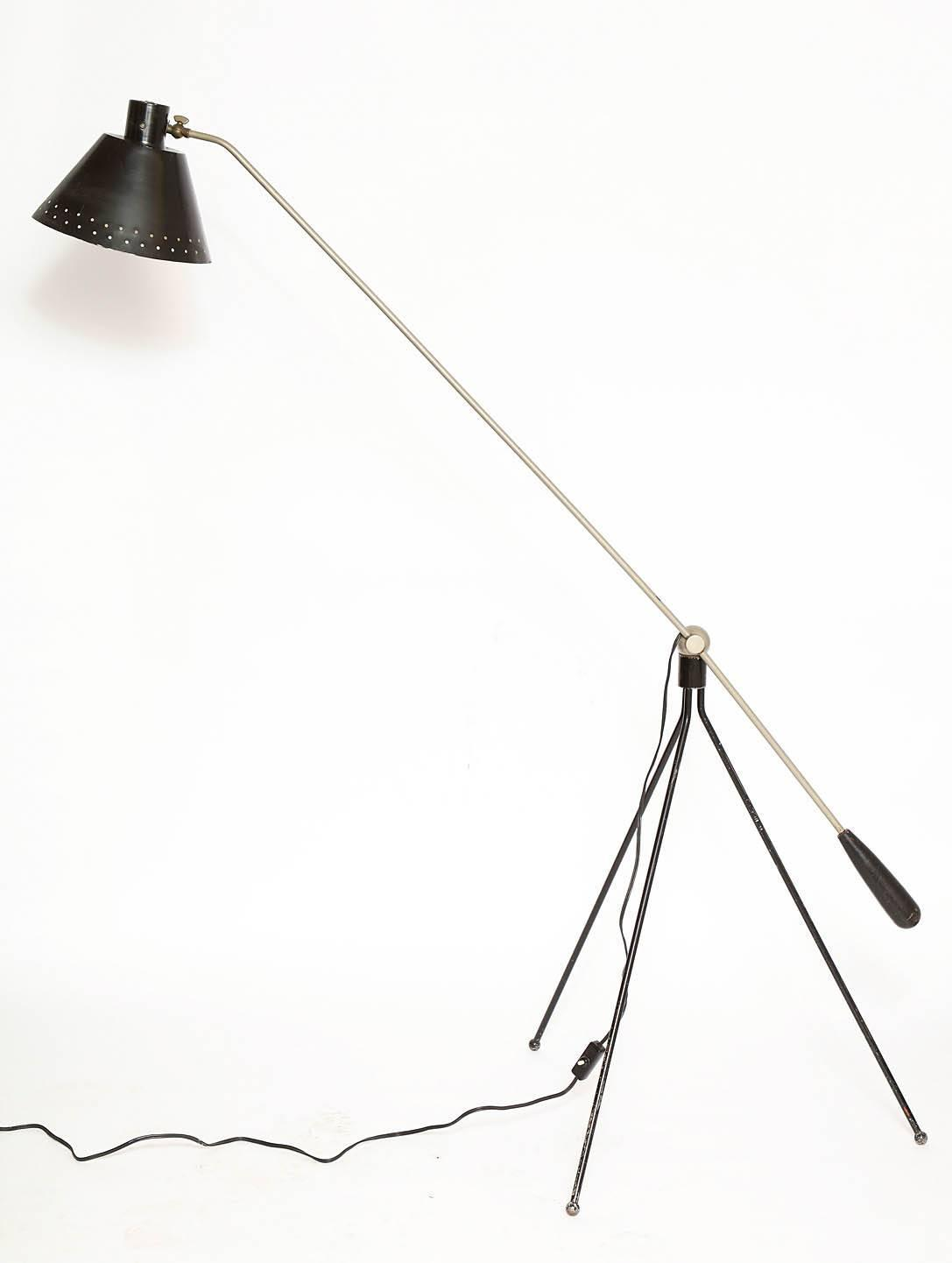 Articulate Floor Lamp Denmark Circa 1950s For Sale At
