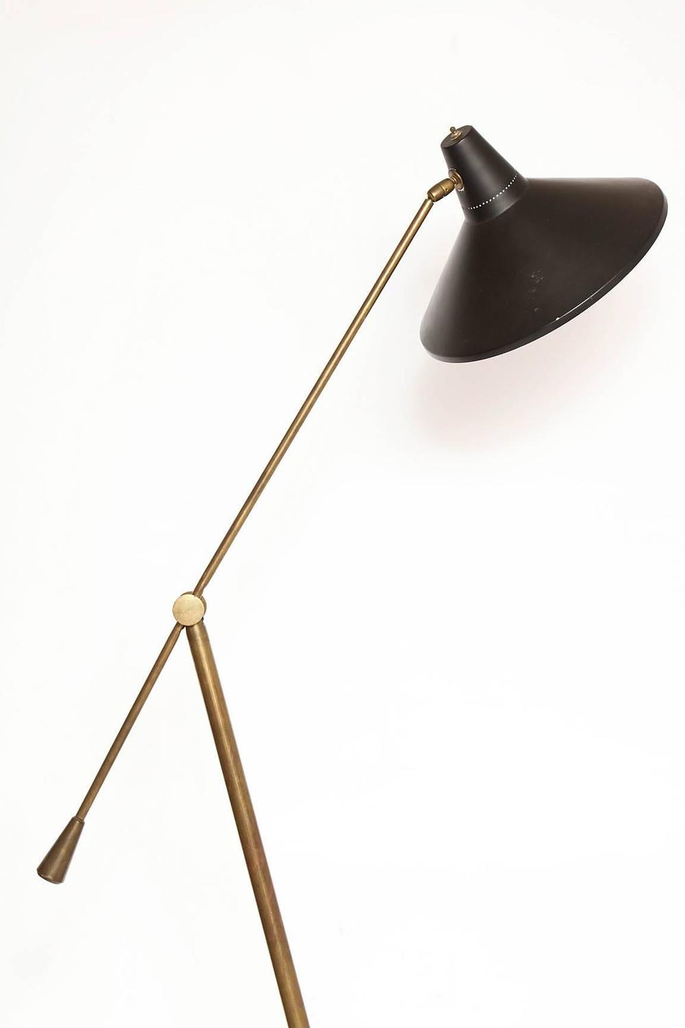 Arredoluce Italian Articulated Floor Lamp 1950s At 1stdibs