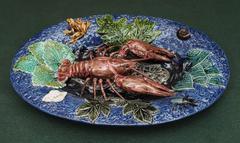 Portuguese Pallisy Platter with langoustine and frog