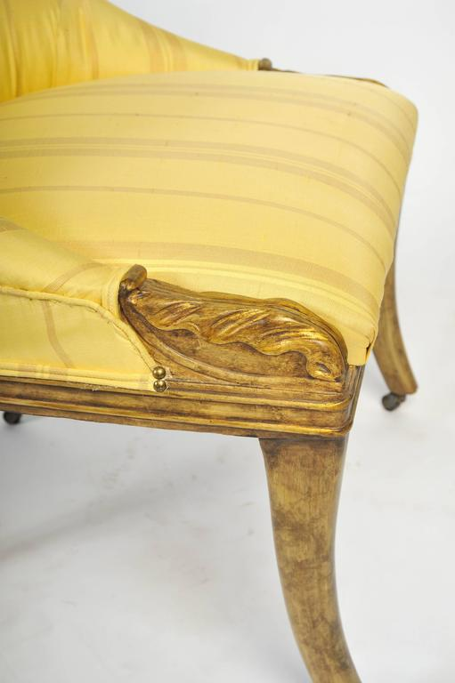 Early 19th Century Pair of Regency Side Chairs For Sale