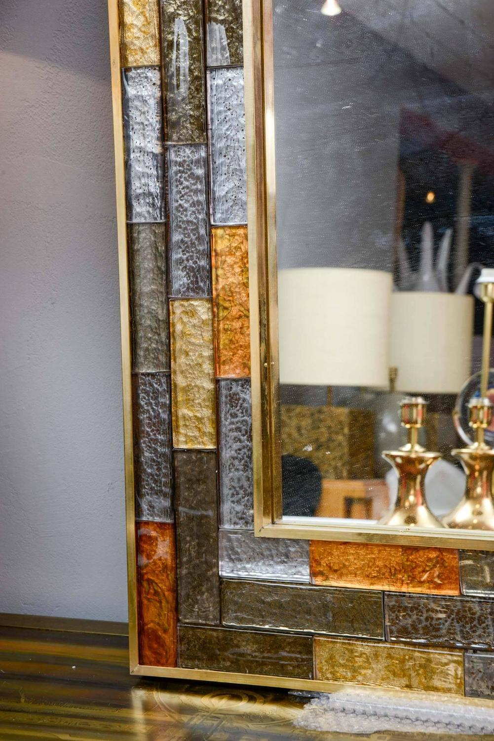murano glass mirror for sale at 1stdibs. Black Bedroom Furniture Sets. Home Design Ideas