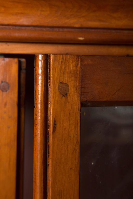 Early 19th Century Country Pine Secretary For Sale 4