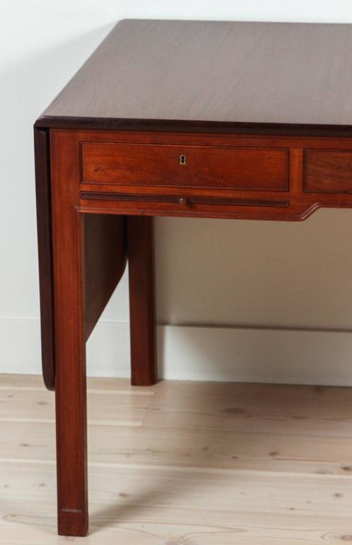 Mahogany Desk Model 4155 by Kaare Klint for Rud. Rasmussen 2