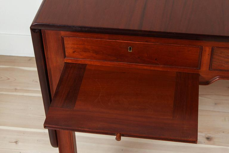 Mahogany Desk Model 4155 by Kaare Klint for Rud. Rasmussen 4