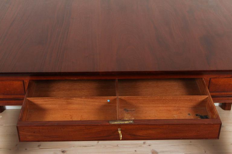 Mahogany Desk Model 4155 by Kaare Klint for Rud. Rasmussen 5