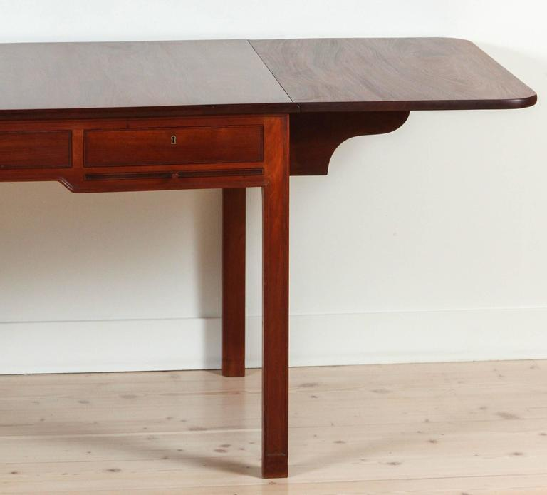 Mahogany Desk Model 4155 by Kaare Klint for Rud. Rasmussen 7