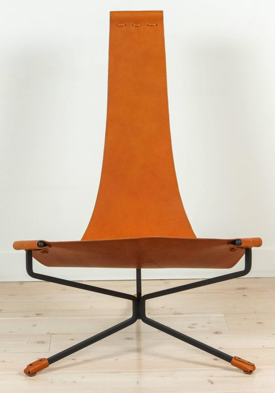 Lotus Chair By Daniel Wenger. Also Available In Black Leather.
