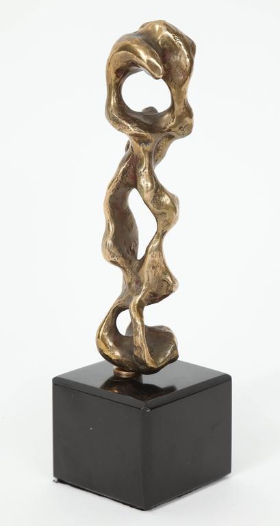 "Anthony Quinn ""Father & Son"" Bronze Sculpture, 1983 6"
