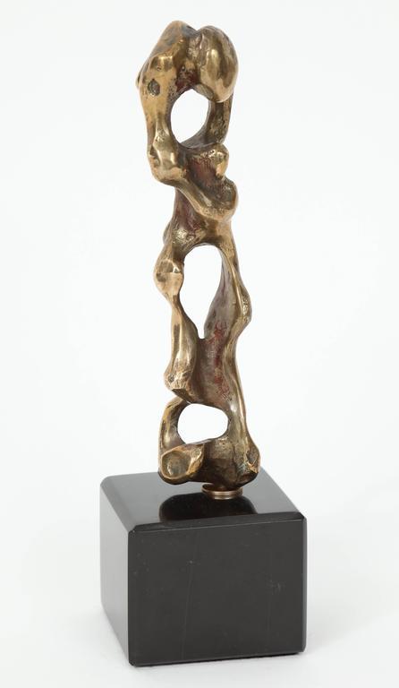 "Anthony Quinn ""Father & Son"" Bronze Sculpture, 1983 8"