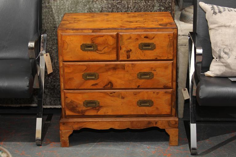 Italian Olivewood Chest 2