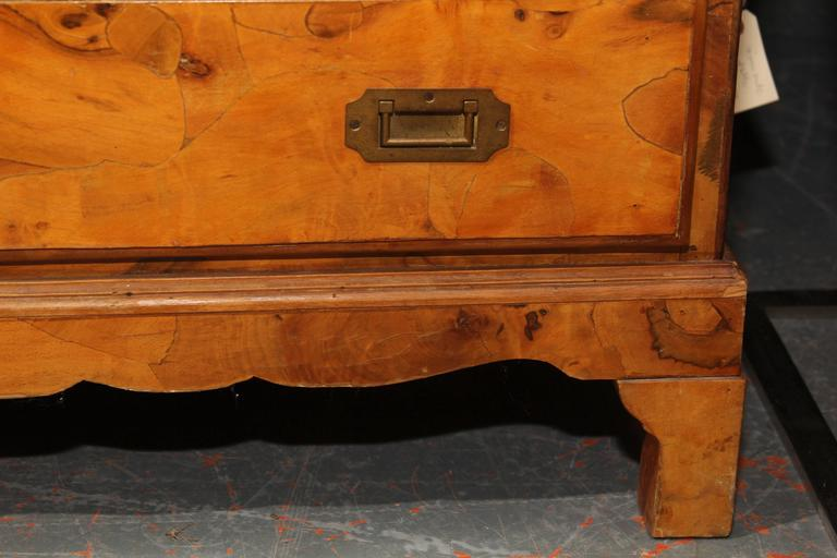 Italian Olivewood Chest 4
