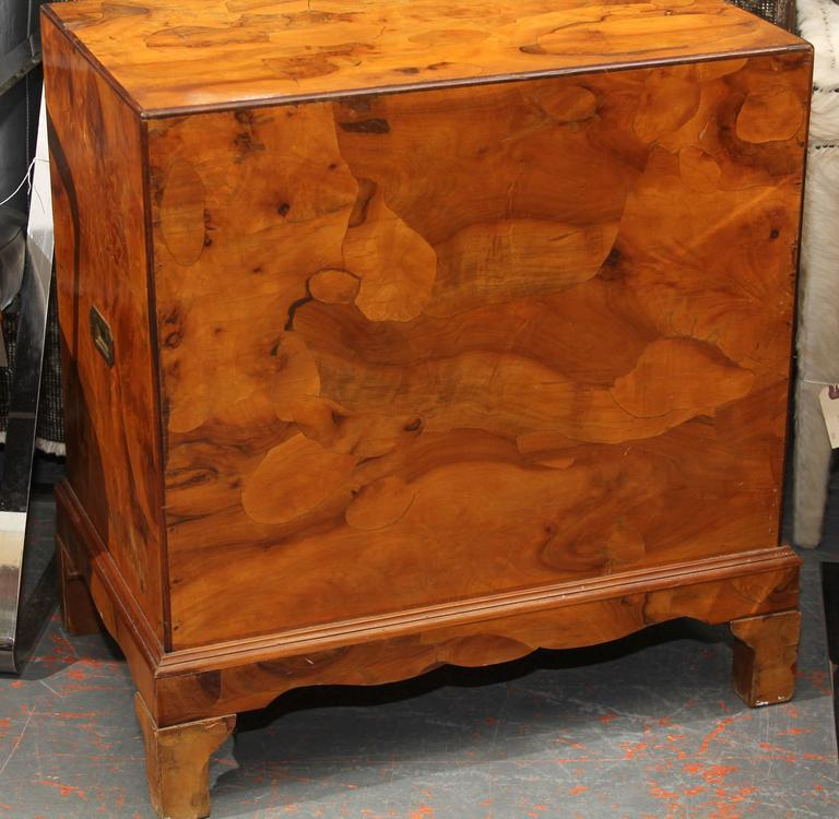 Italian Olivewood Chest 8