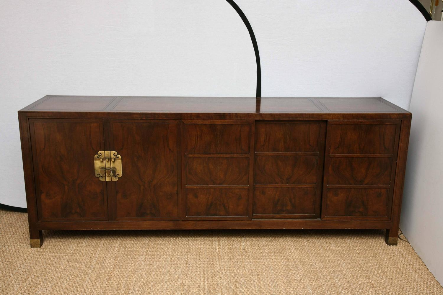 Far East Collection Credenza By Baker Furniture For Sale At 1stdibs