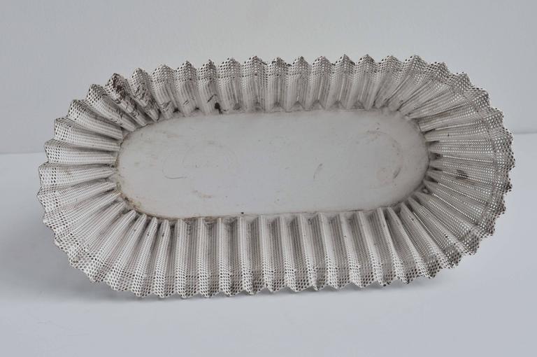 Mid-20th Century Mid-Century, Perforated Metal