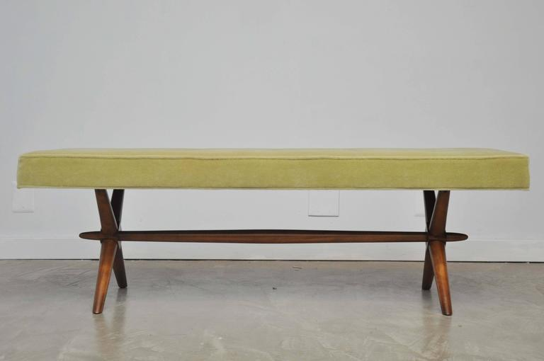 T.H. Robsjohn-Gibbings X-Base Bench 5
