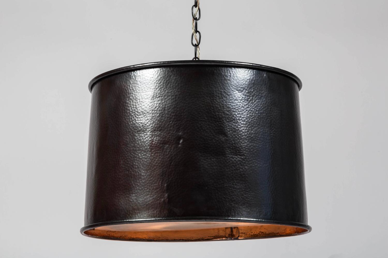 copper drum light fixture at 1stdibs