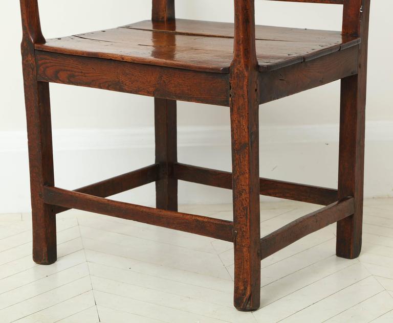 George III Oak Armchair 2