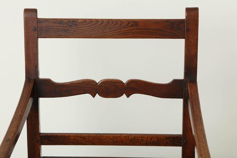 George III Oak Armchair 6