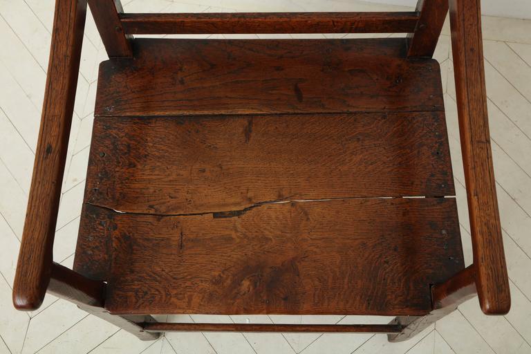 George III Oak Armchair 7