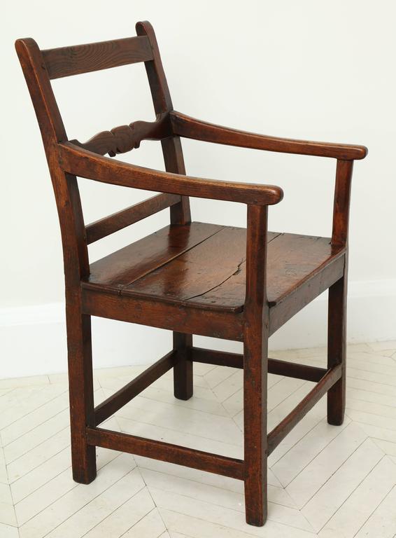 George III Oak Armchair 8