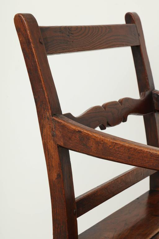 George III Oak Armchair 10