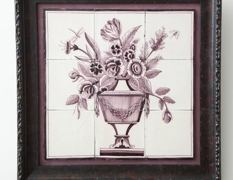 Late 18th Century Dutch Delft Tile Picture 2